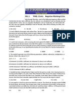 Crt Mock Test Level 1 Question Paper (Confidential)