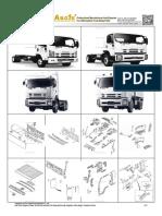 Asone Auto Body Parts Catalog for Isuzu Forward Frr Fsr Ftr Fvr 2008 On