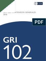 Spanish GRI 102 General Disclosures 2016