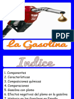 VOLATILIZACION DE LA GASOLINA 90 OCTANOS