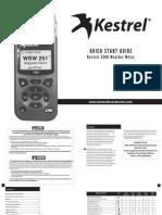 Manuale Inglese Kestrel 5500
