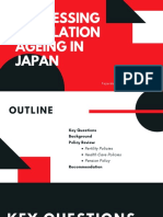 Addressing Population Ageing in Japan