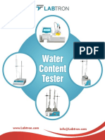 LABTRON Titulador Karl Fisher Water-Content-Tester