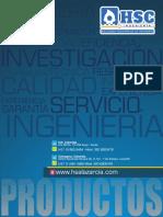 Brochure Productos HSC Ingenieria