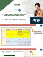 4.1 Cómo Crear Una Categoría de Calificación Al Libro de Calificaciones en El Aula en Línea