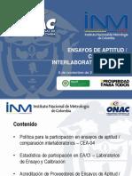 Ensayos de Actitud y Interlaboratorios ONAC
