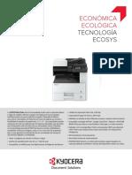 Impresora kyocera 4215