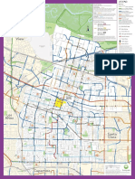 Sunnyvale Bike Map