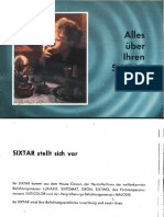 Gossen Sixtar German