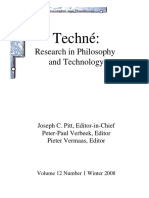 Techne. Research in Philosophy and Technology