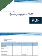 Agenda Pedagógica 2020