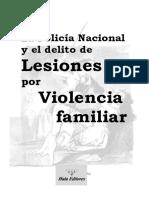 Libro El Delito de Lesiones Por Violencia Familiar
