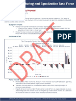 Tax Restructuring and Equalization Task Force - Senator Mayne Alternative Proposal