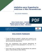 Wilcoxon Pareado