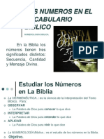 Numerología (Carlos Rondón)
