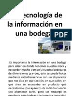 3.3 Tecnologia d La Inform en Una Bodega