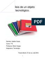 analisis objeto tecnolog.