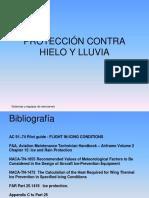 Sistemas y Equipos de Aeronaves - Protección Contra Hielo y Lluvia