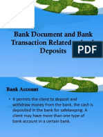 Bank Document and Bank Transaction Related to Bank Chapter 7 12 Abm B