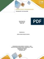 Unidad 2 Ciclo de La Tarea 2 Conceptualizacion