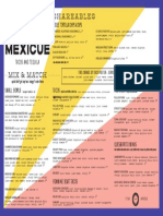 Mexicue food menu