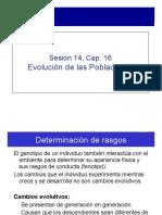 Evolucion de las poblaciones