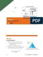Lecture 05 - Linear regression