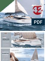 Dehler 42 Brochure DS 181101