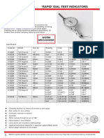 Dial Test Indicators