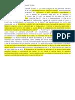 El Carcinoma Ex Adenoma Pleomorfo