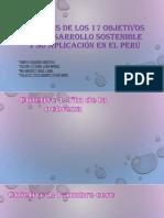 ANALISIS DE LOS 17 PRINCIPIOS DE DESARROLLO SOSTENIBLE