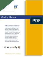 KEMET Quality Manual