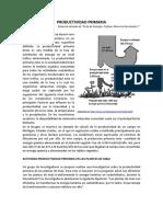 PRODUCTIVIDAD PRIMARIA Guía