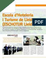 """ARTICLE DE LA REVISTA """"HOSTELERÍA"""""""