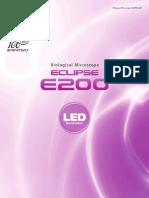 Manual Microscópio E200