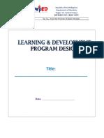L&D PD (revised 2018)