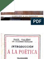 Valéry Introd a La Poetica