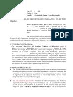 Habeas Corpus Restringido - Modificado Jazán - Huañambal
