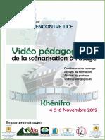 Programme RencontreTICE Khénifra2019