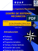 Diseño de sistemas mecánicos