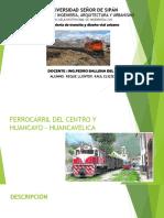 Ferrocarril Del Centro y Huancayo-Huancavelica