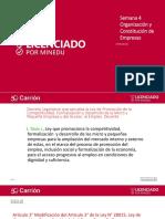 Organizacion y Constitucion de Empresas Clase 4