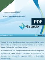 Aula_03-Leishmaniose e Malaria