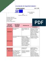 ACIDO SULFHIDRICO Fichas Internacionales de Seguridad Química