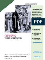 Material de Catequesis Octubre 2019 - Editado