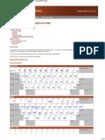 Malayalam Inscript Chart