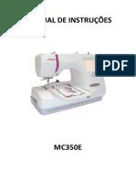 Manual de Instruções MC350E
