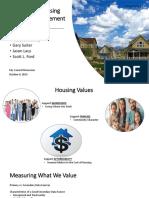 Community Housing Presentation