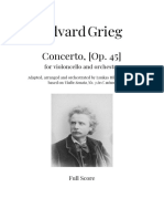 Edvard Grieg - Cello Concerto in C minor [Op. 45]