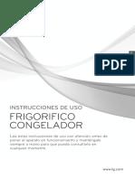 Manual Refrigerado LG LB31MPP